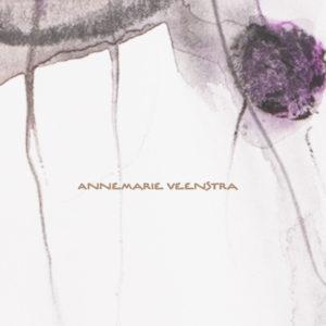 Ontwerp Website Annemarie Veenstra, Beeldend Kunstenaar Te Leeuwarden, 2012. Voorbeeld Homepage.
