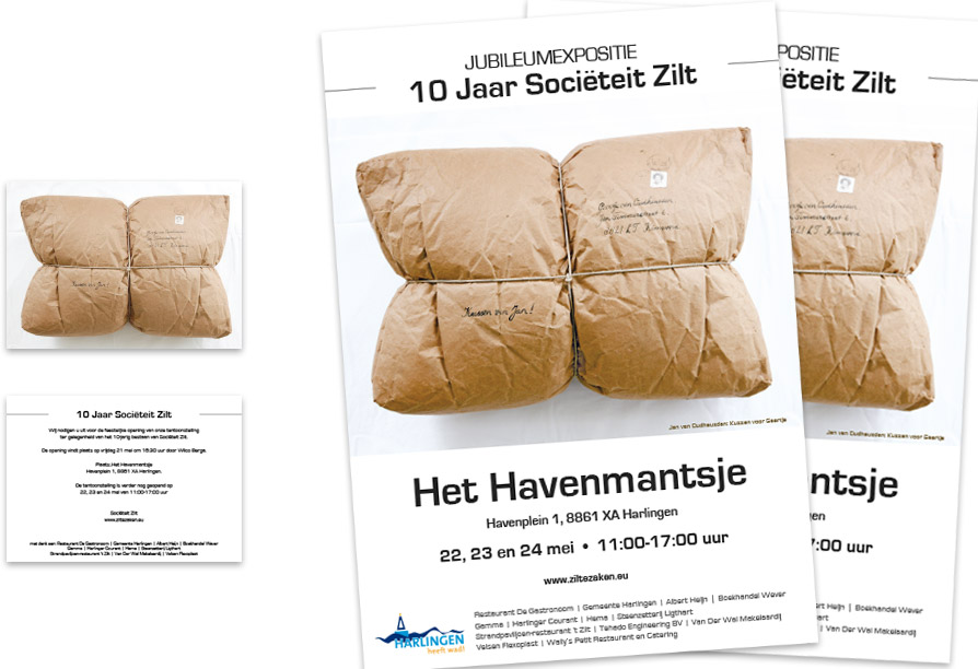 Zilt Expo 2010 Poster En Uitnodiging